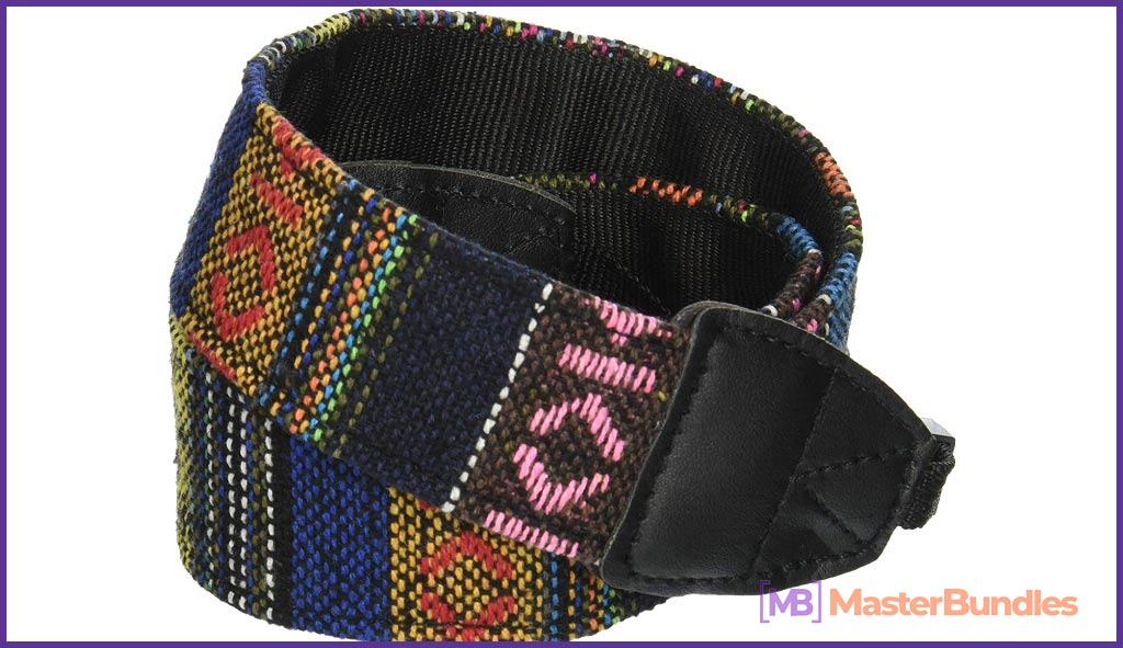 Vintage Soft Multi-Color Universal Camcorder Camera Shoulder Strap Universal Camcorder Belt for DSLR