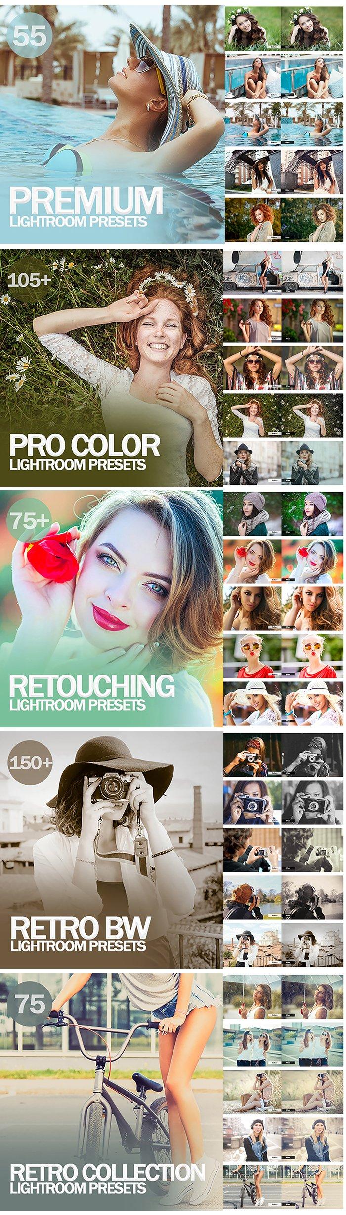 20,000+ Mega bundle Mobile and Desktop Lightroom Presets - 12 1