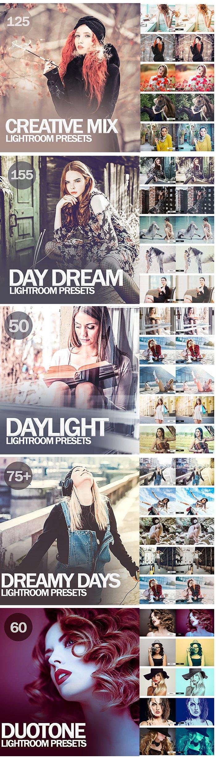 20,000+ Mega bundle Mobile and Desktop Lightroom Presets - 2 1