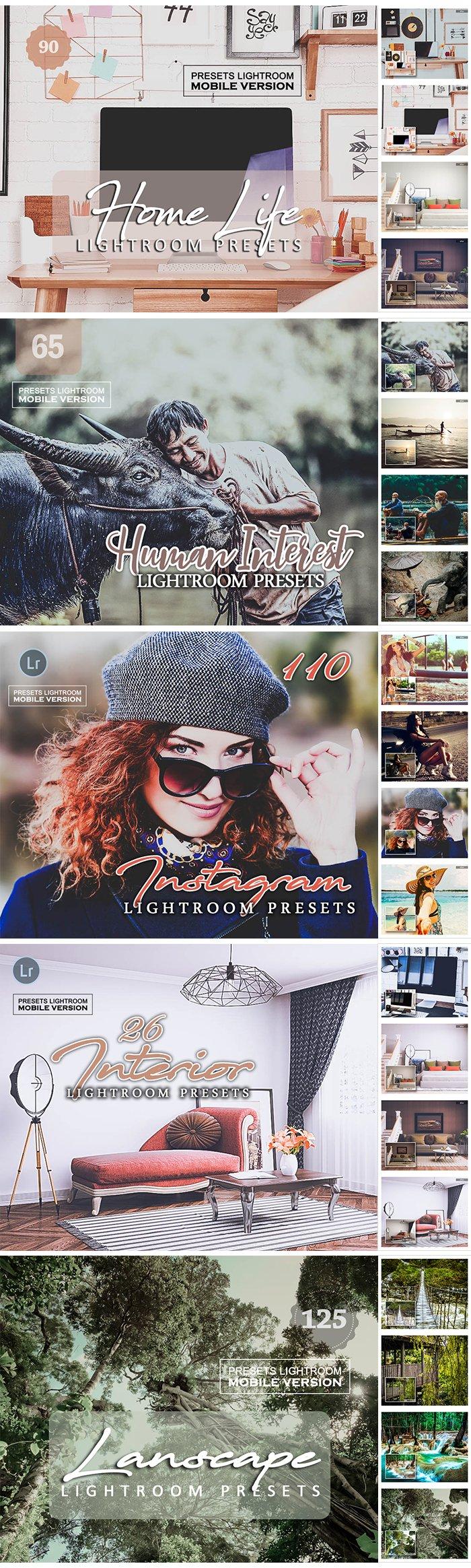 20,000+ Mega bundle Mobile and Desktop Lightroom Presets - 21