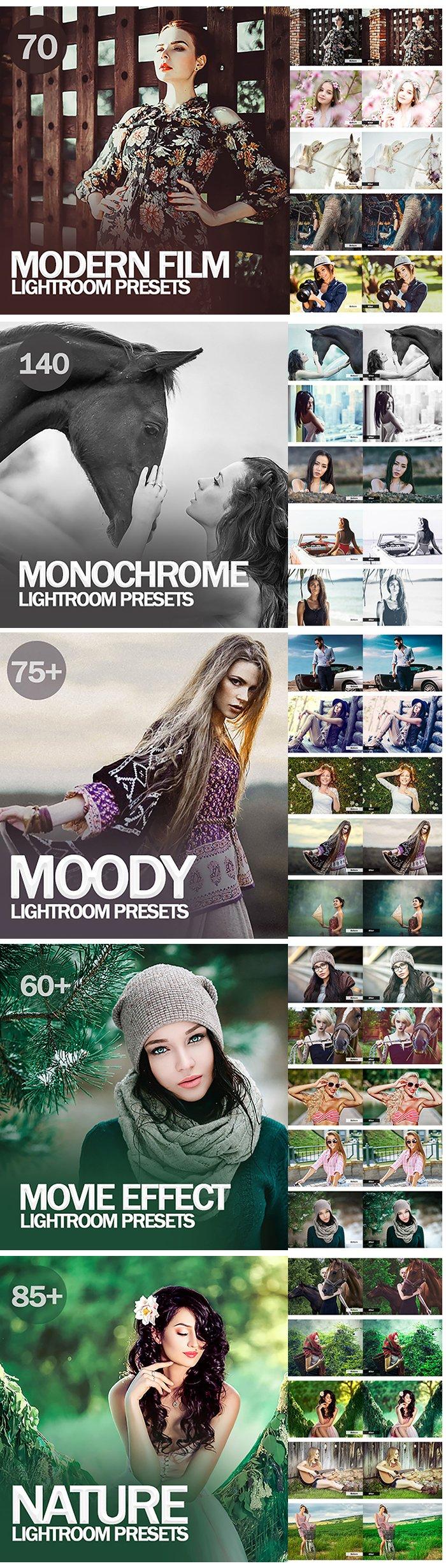 20,000+ Mega bundle Mobile and Desktop Lightroom Presets - 9 1