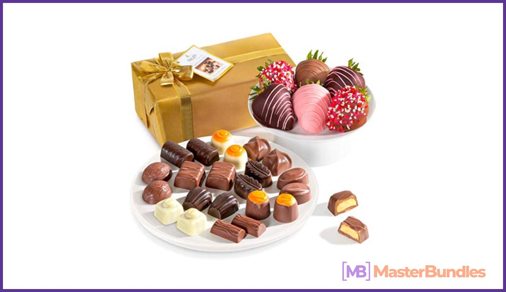 Everyone, without exception, loves chocolate, so this gift will be great for Valentine's Day.