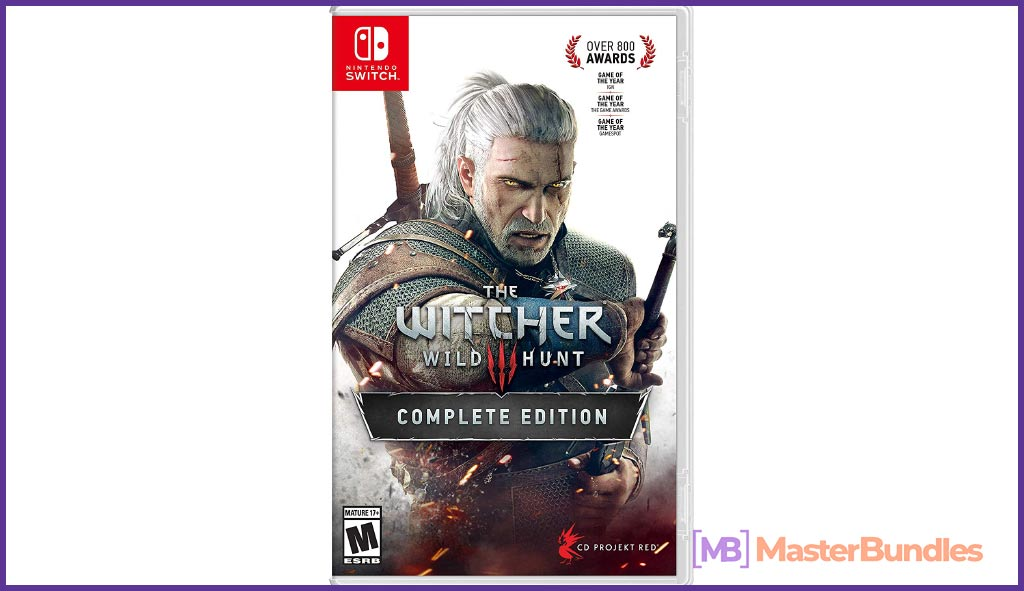 Witcher 3: Wild Hunt - Nintendo Switch. Valentine's Day Presents for Graphic Designers.