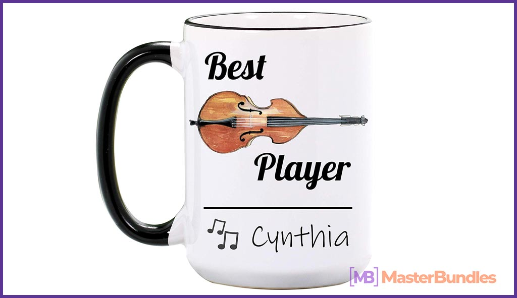 75+ Best Gifts for Musicians & Music Lovers in 2020 - cello mug 8