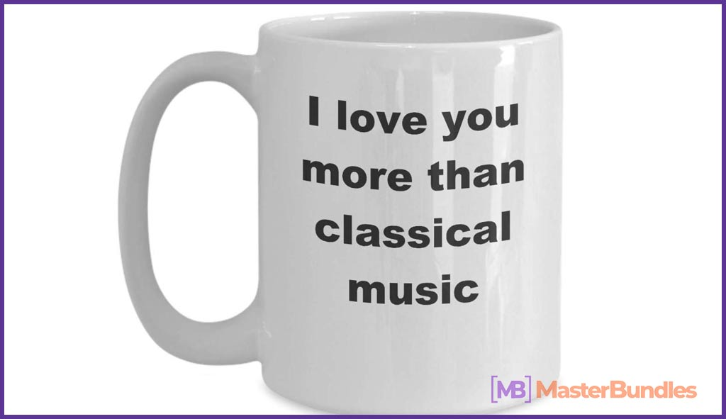 75+ Best Gifts for Musicians & Music Lovers in 2020 - classica music lover mug 16