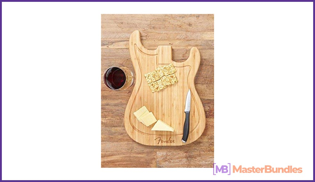 Cutting Board. Gifts for Musicians