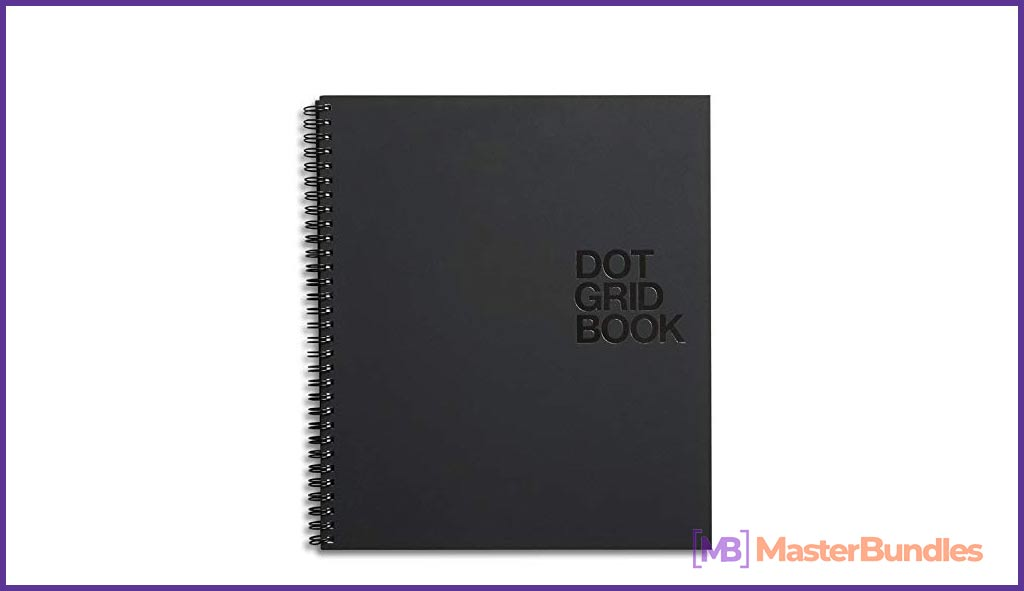 The classic black diary is perfect for any event.