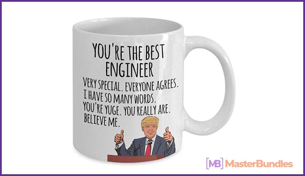 Engineer Gift Mug. Gifts for Engineers