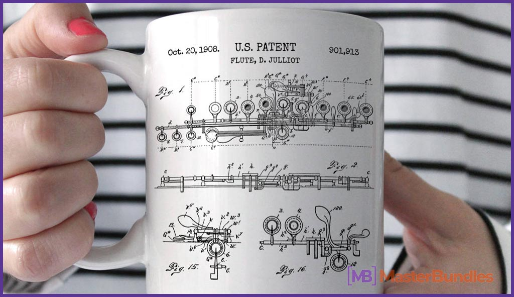 75+ Best Gifts for Musicians & Music Lovers in 2020 - flute mug 8