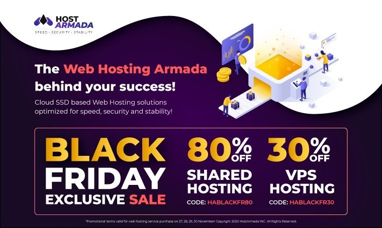 60+ Best Black Friday and Cyber Monday Deals 2020. For Designers, Artists and Developers - hostarmada