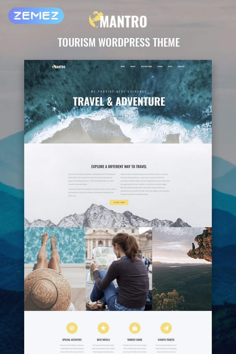 45+ Best WordPress Themes for Travel Blogs 2020: Free and Premium - image12 5