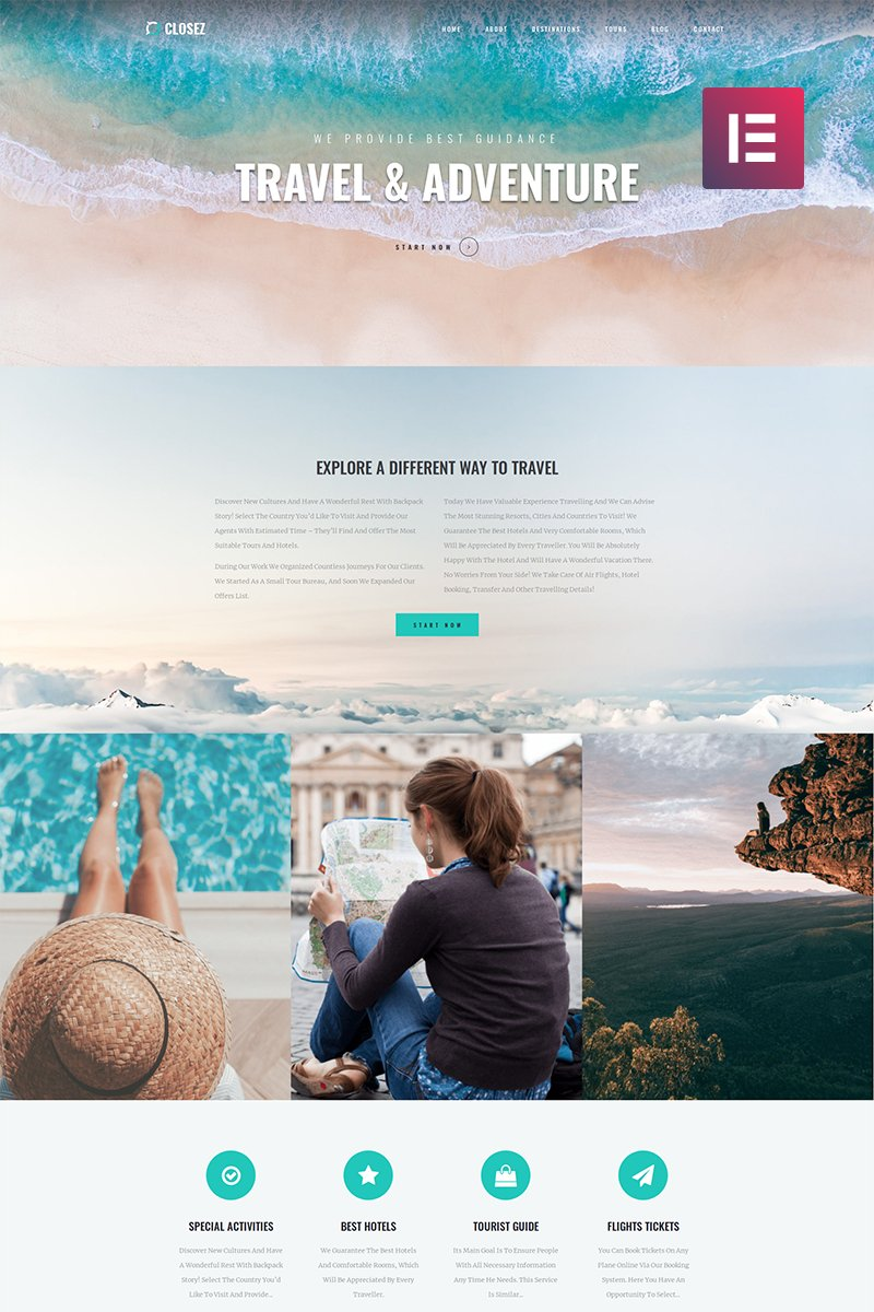 45+ Best WordPress Themes for Travel Blogs 2020: Free and Premium - image13 3