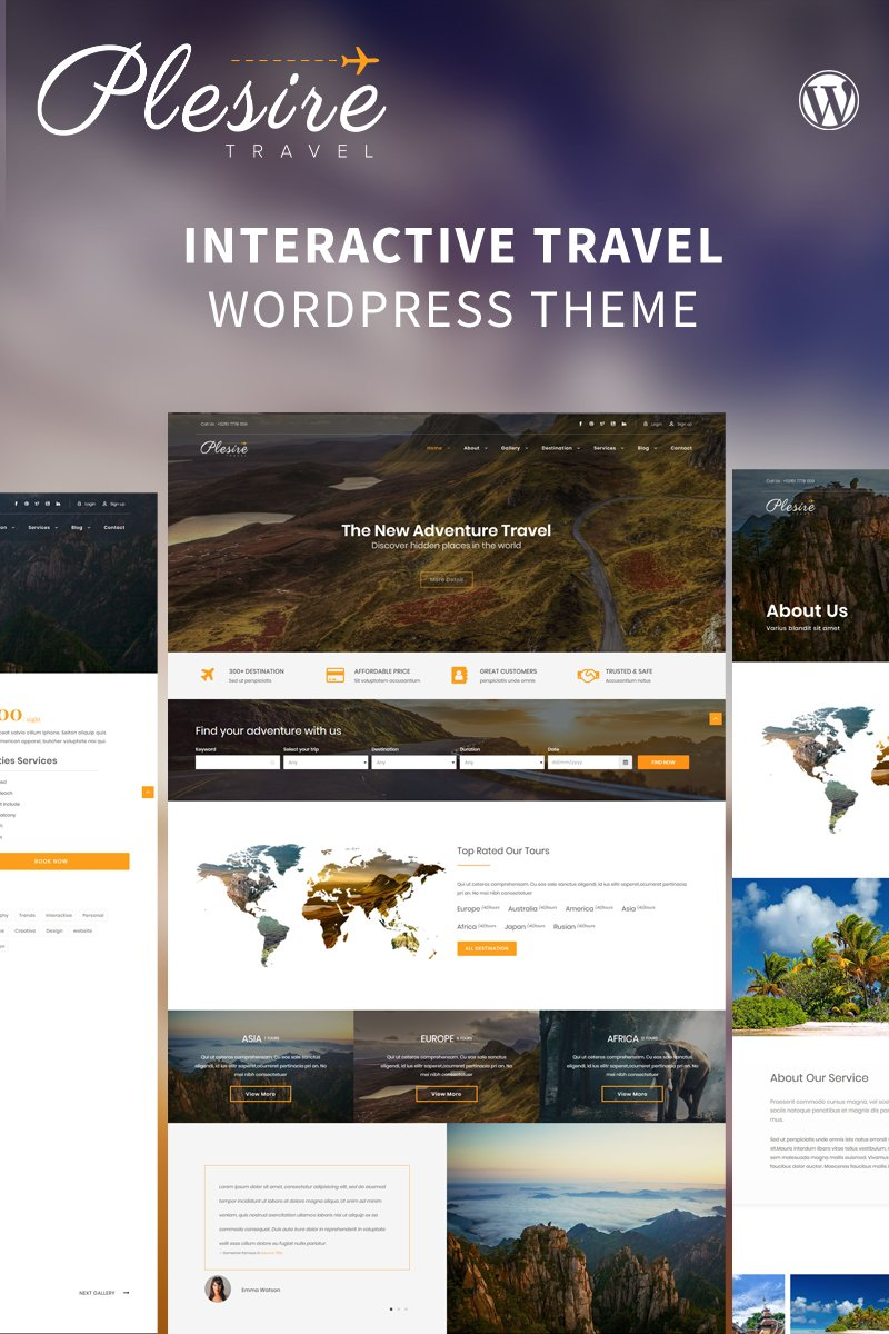 45+ Best WordPress Themes for Travel Blogs 2020: Free and Premium - image14 3