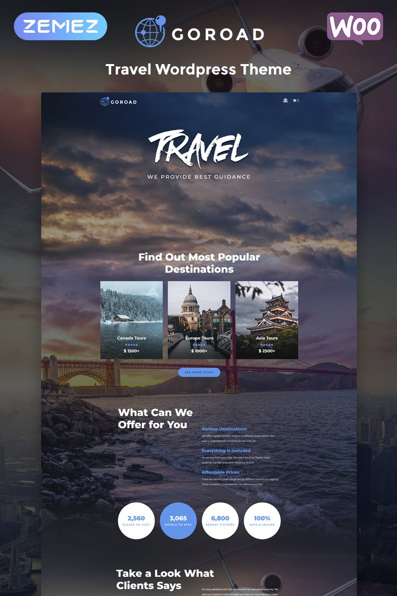 45+ Best WordPress Themes for Travel Blogs 2020: Free and Premium - image16 1