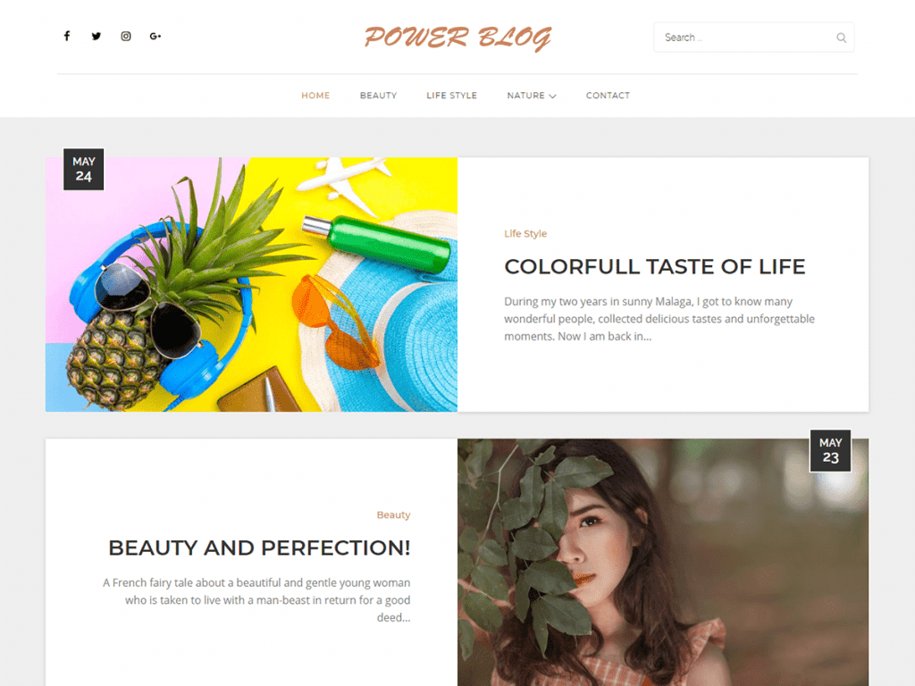 50+ Hottest Personal Blog WordPress Themes 2020: Free & Premium - image16 2