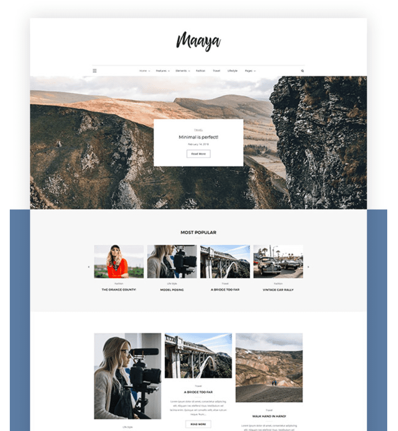 45+ Best WordPress Themes for Travel Blogs 2020: Free and Premium - image17 2