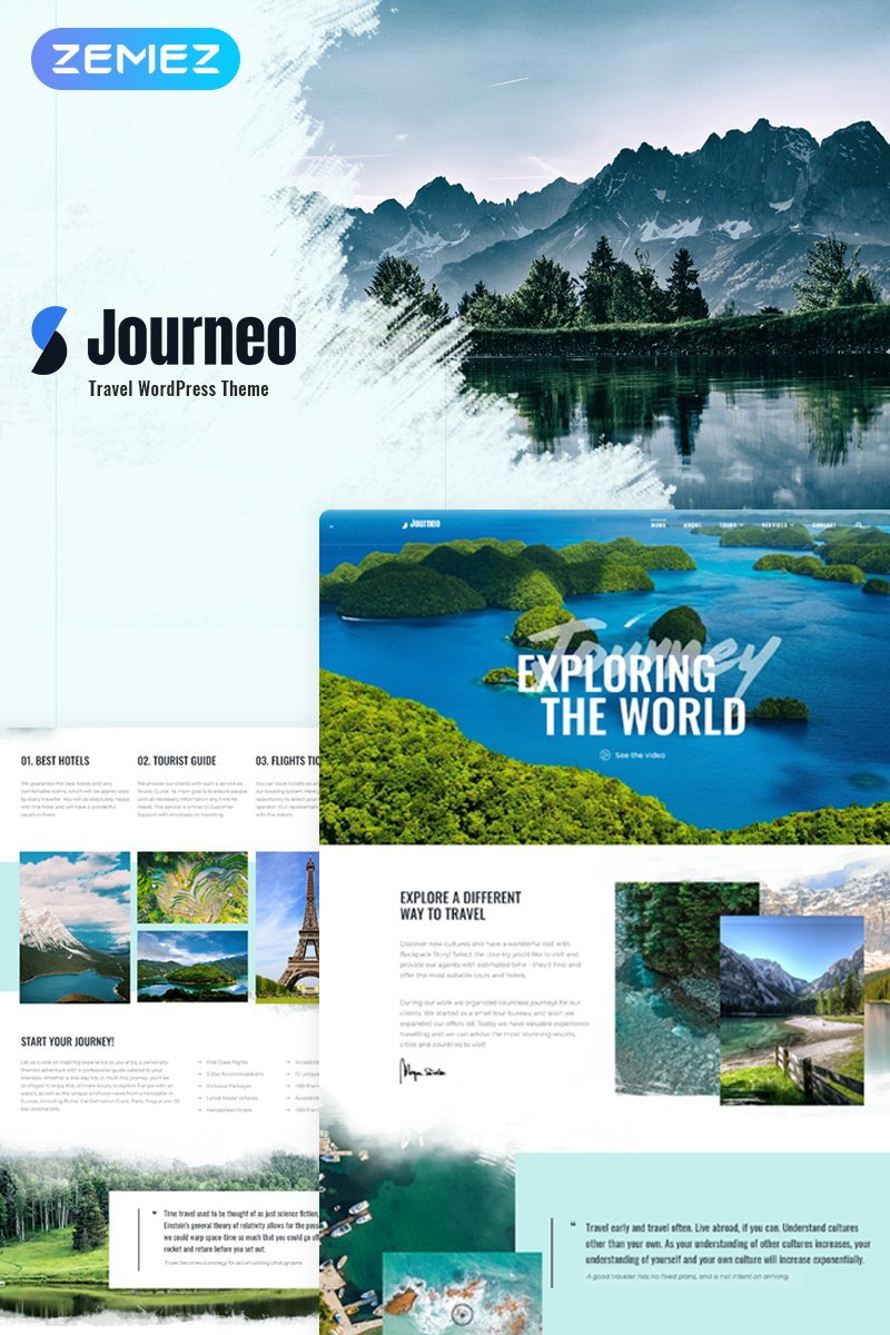 45+ Best WordPress Themes for Travel Blogs 2020: Free and Premium - image18 2