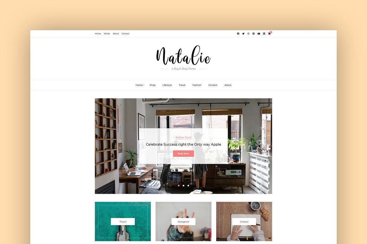 45+ Best WordPress Themes for Travel Blogs 2020: Free and Premium - image3 7