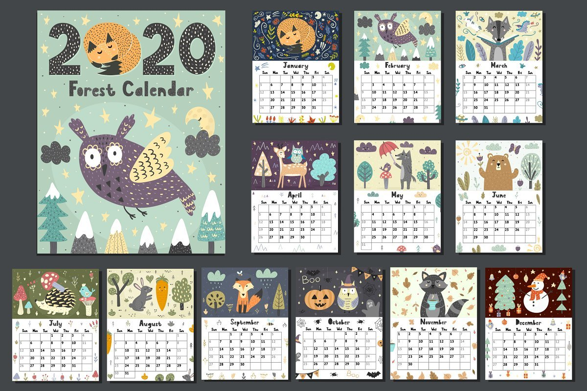18 Editable Calendar Templates To Keep Track Of Important Dates and Events - image4 1