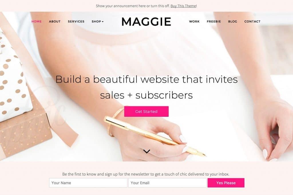 50+ Hottest Personal Blog WordPress Themes 2020: Free & Premium - image6 3