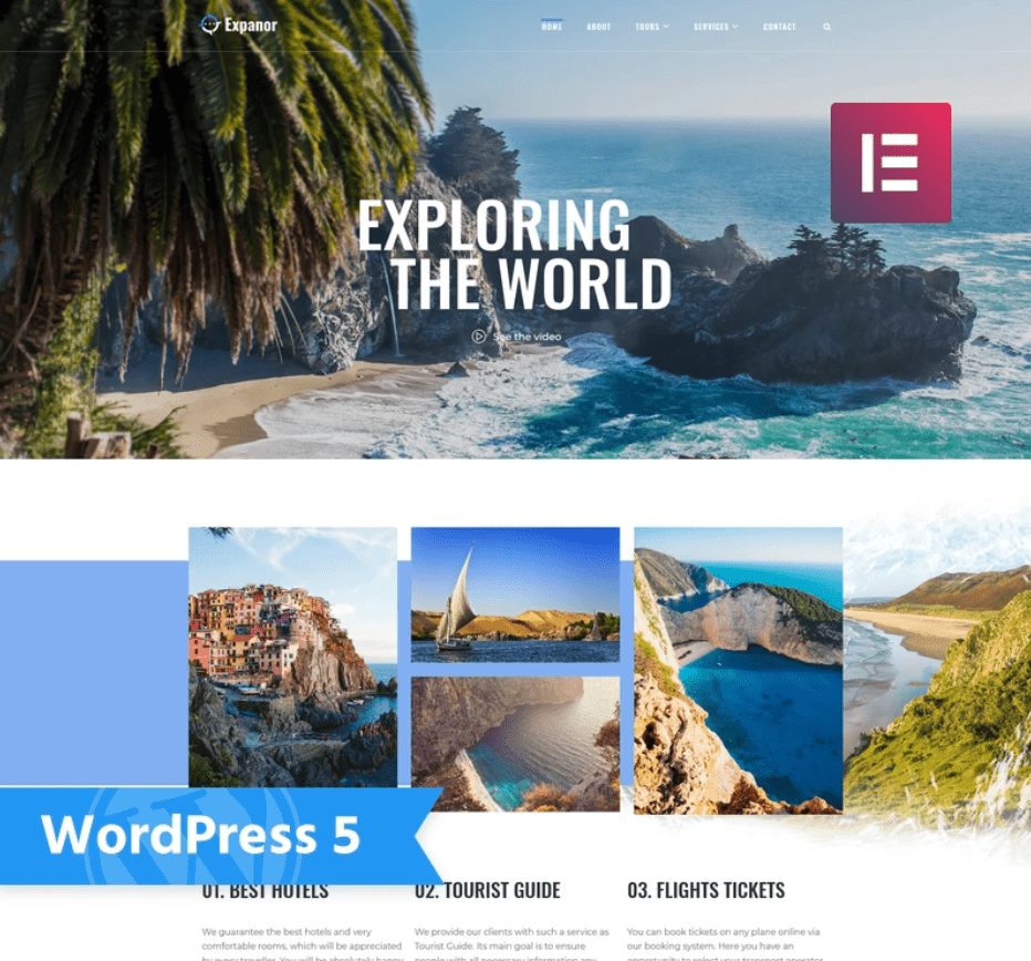 45+ Best WordPress Themes for Travel Blogs 2020: Free and Premium - image8 2