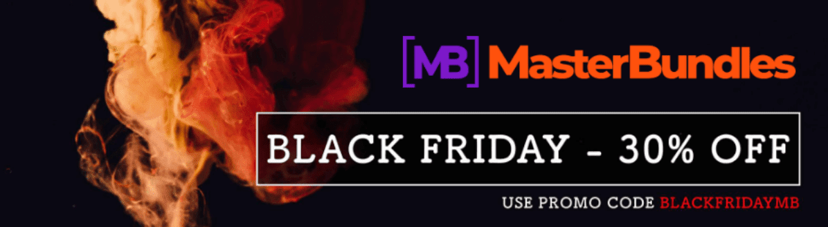 60+ Best Black Friday and Cyber Monday Deals 2020. For Designers, Artists and Developers - masterbundles black friday sales 1