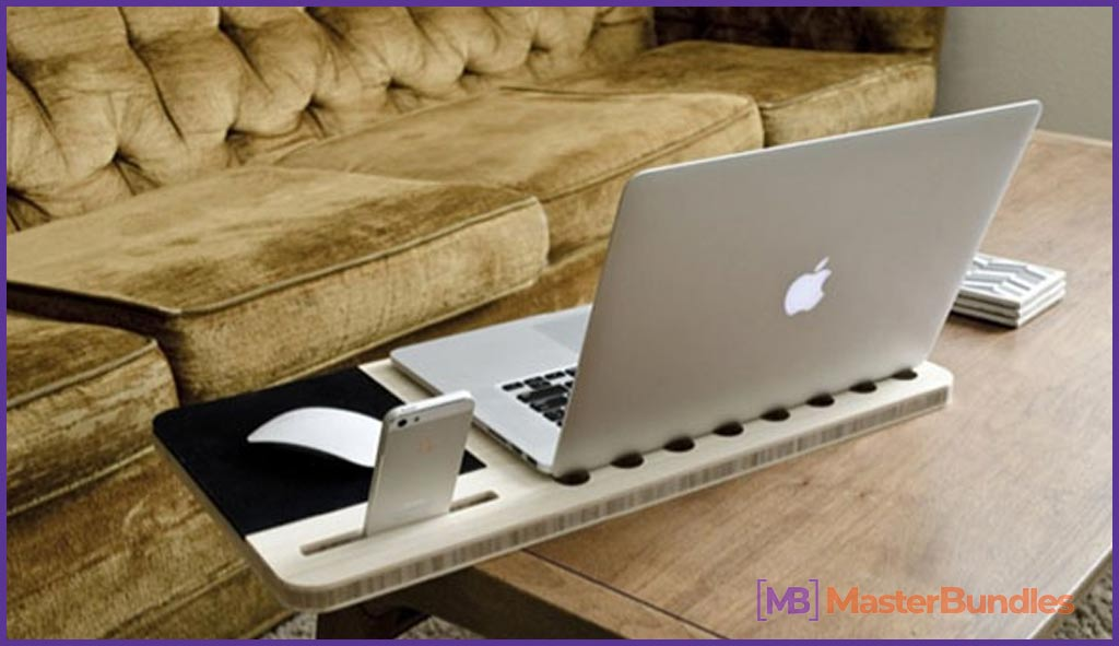 Light and multifunctional laptop stand.
