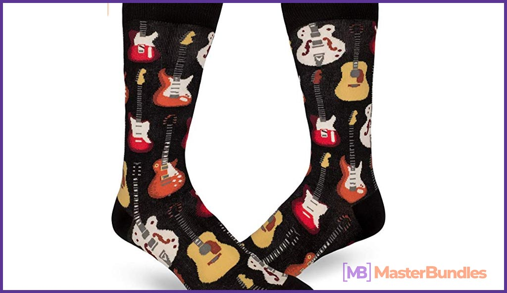 75+ Best Gifts for Musicians & Music Lovers in 2020 - modsocks men's classic guitar 30