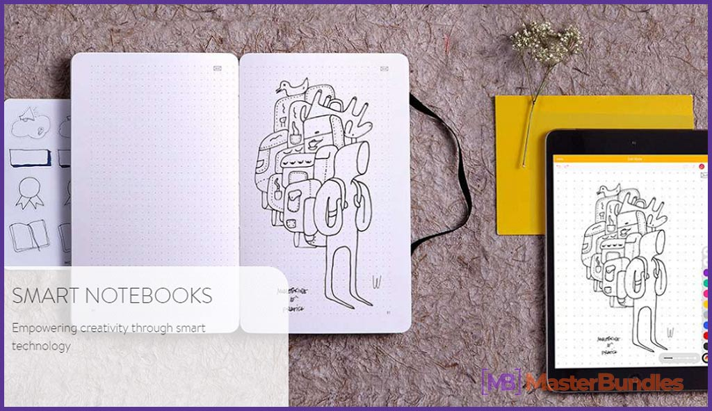 50+ Gifts for Marketers: Christmas, Birthday, Valentine's Day in 2020 - moleskine smar notebook 5
