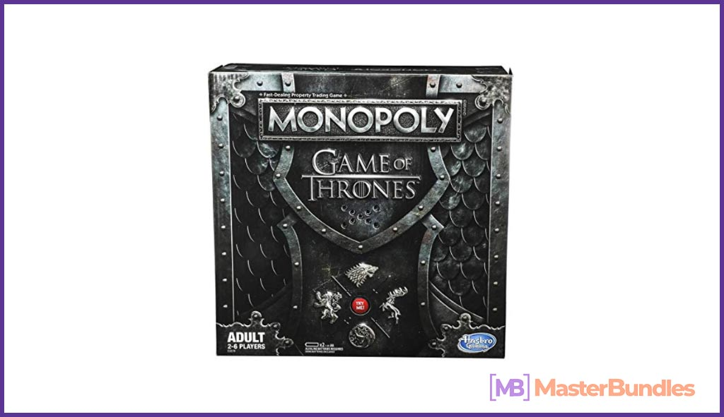 Monopoly Game of Thrones Board Game for Adults. Christmas Gifts for Graphic Designers
