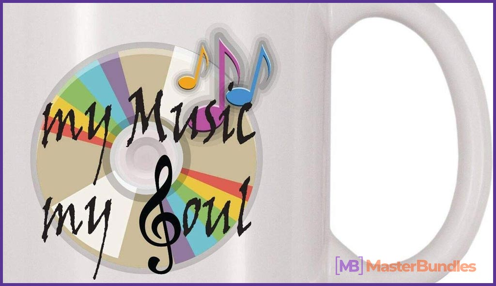 75+ Best Gifts for Musicians & Music Lovers in 2020 - music Is my life mug 8