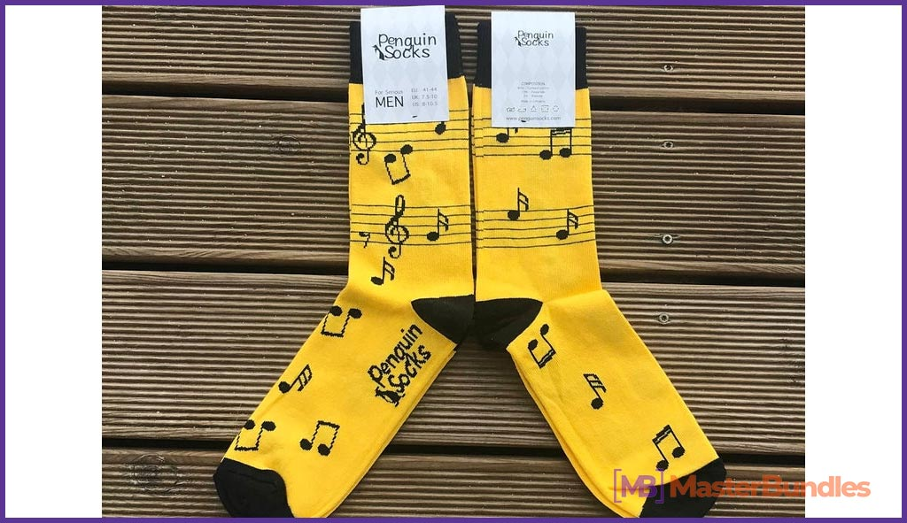 75+ Best Gifts for Musicians & Music Lovers in 2020 - music socks 30
