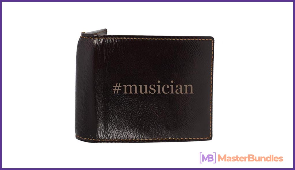 75+ Best Gifts for Musicians & Music Lovers in 2020 - musician wallet 14