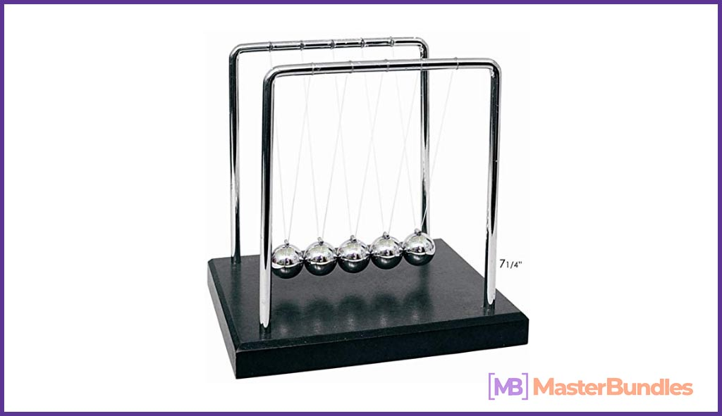 95+ Gifts for Graphic Designers 2020 - newtons cradle 54