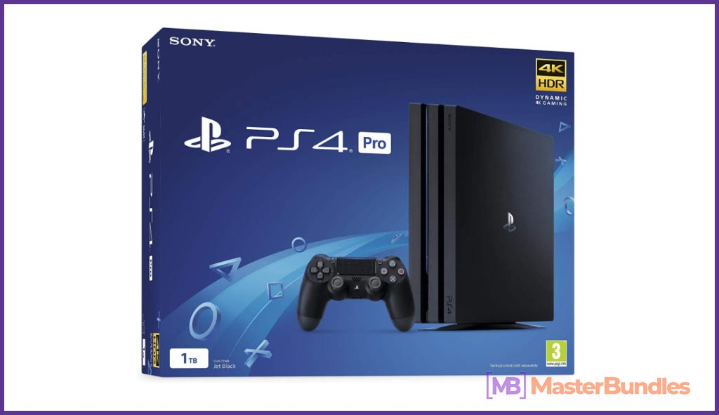 Sony PlayStation 4 Pro 1TB Console. Birthday Gift Ideas for Graphic Designer.
