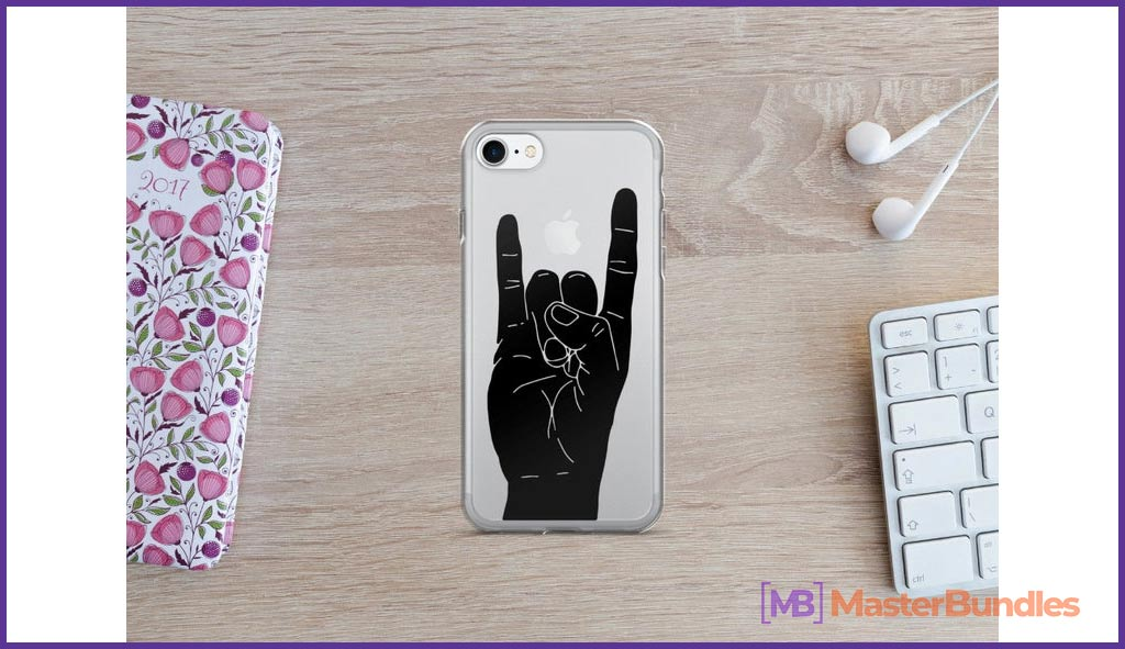 Rock On iPhone. Gifts for Musicians