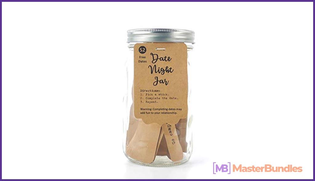 Romantic Date Night Ideas Jar