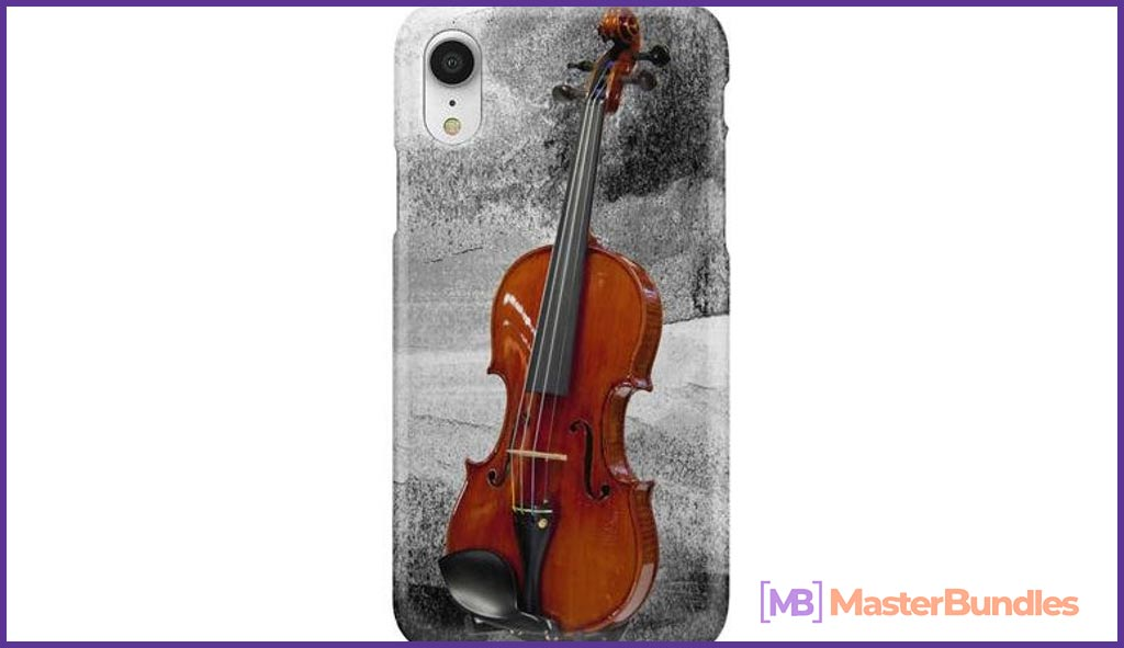 Violin Phone Case. Gifts for Musicians.