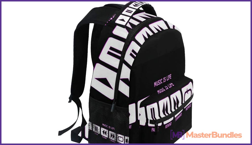Women/Man Daypack. Gifts for Musicians.