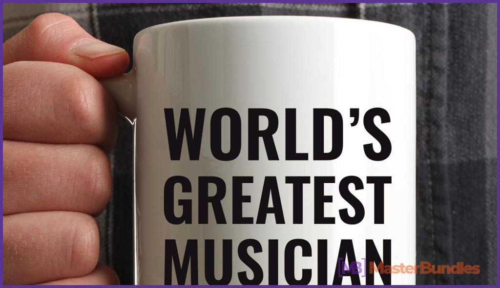 75+ Best Gifts for Musicians & Music Lovers in 2020 - world's greatest musician mug 8