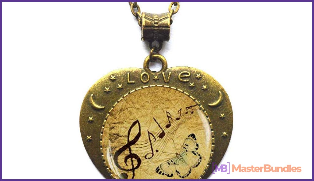 75+ Best Gifts for Musicians & Music Lovers in 2020 - your always charm music lover necklace 20