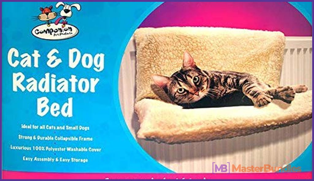 Zizzi Cat Dog Pet Radiator Bed Fleece Hammock