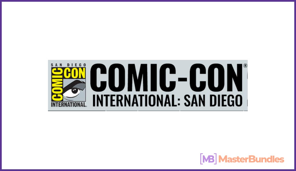 Comic-Con Tickets. Birthday Gifts for Writers.