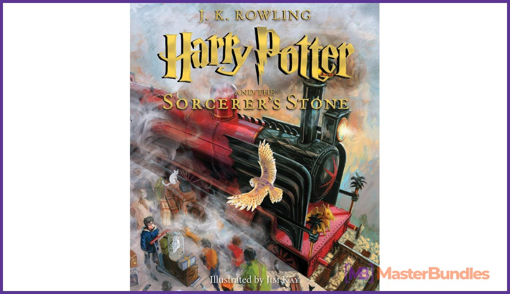 Harry Potter and the Sorcerer's Stone. Birthday Gifts for Writers.