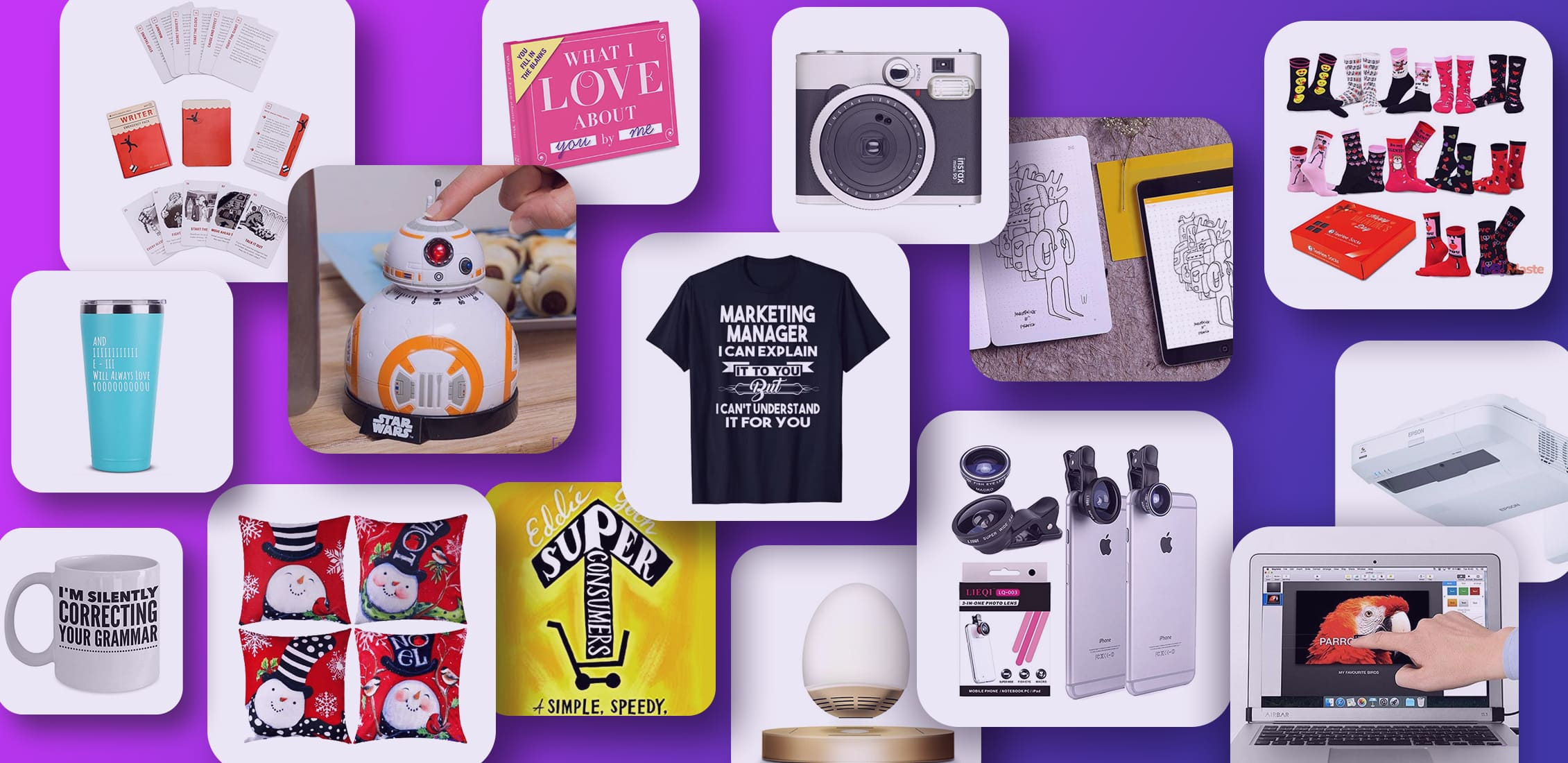 Examples Best Gifts for Marketers.