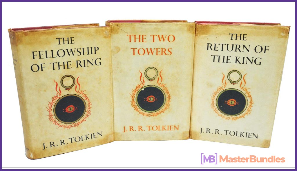 THE LORD OF THE RINGS TRILOGY Three Volumes. Birthday Gifts for Photographers