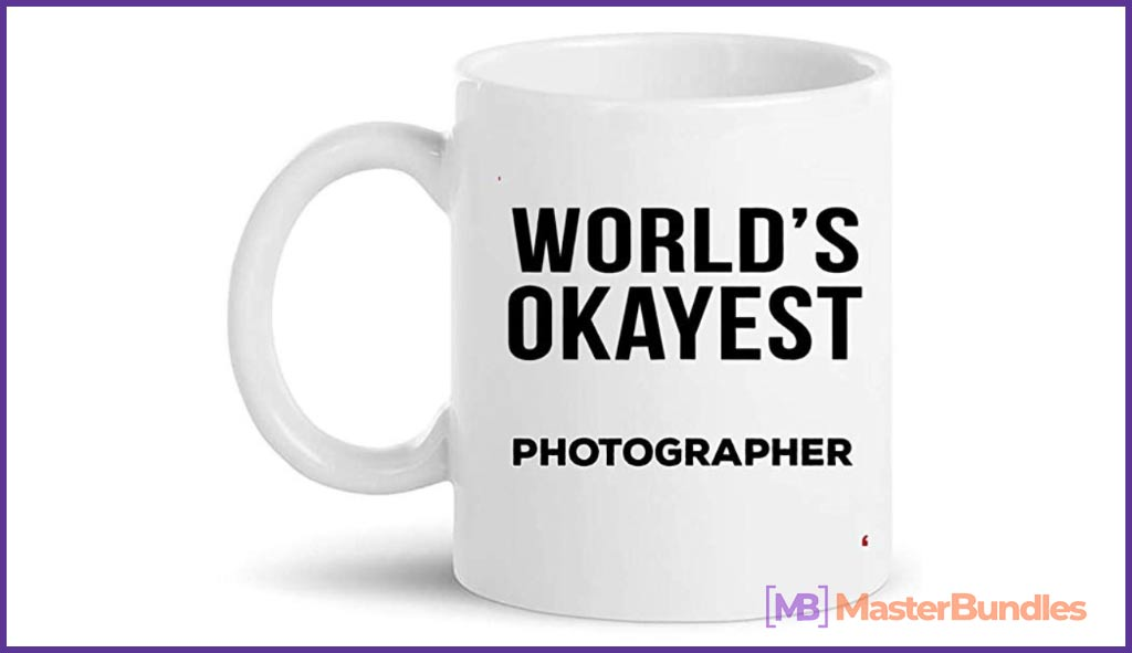Retired Photographer Retiring Cup Coffee Mug. Christmas Gifts for Photographers