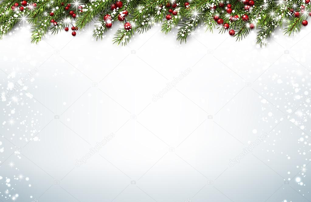 600+ Best Free Merry Christmas Images & New Year Pictures 2021 - depositphotos 127978622 stock illustration christmas background with fir branches