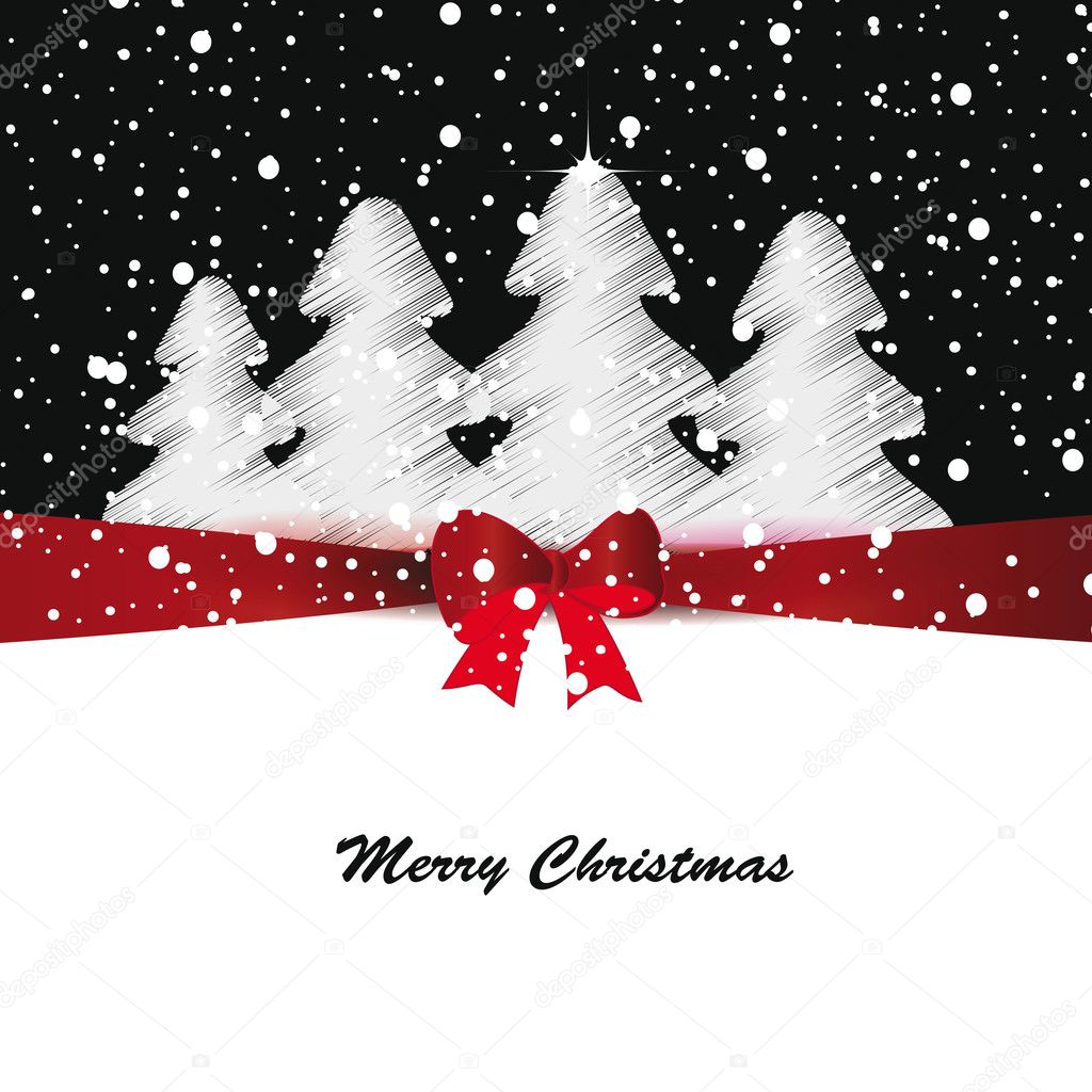 600+ Best Free Merry Christmas Images & New Year Pictures 2021 - depositphotos 13128116 stock illustration christmas card