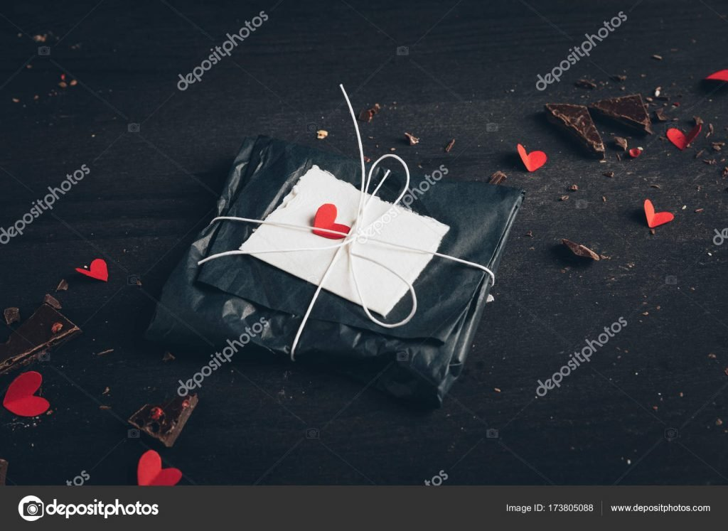 1000+ Free Happy Valentines Day Images - depositphotos 173805088 stock photo packaged present for valentines day